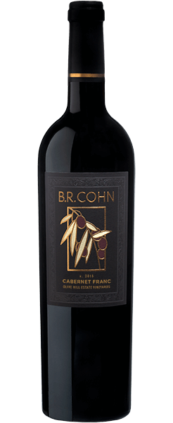 2016 Sonoma Valley Cabernet Franc Olive Hill Estate Vineyards - Bottle Shot