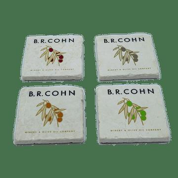 BR Cohn Stone Coasters Set of 4