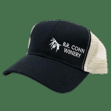 BR Cohn Trucker Hat Black