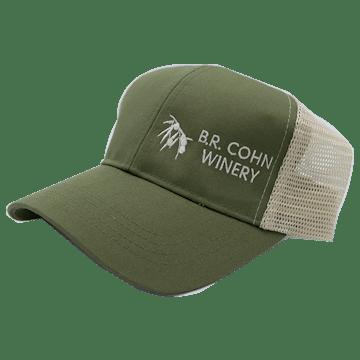 BR Cohn Trucker Hat Olive Green