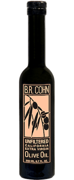 BR Cohn Unfiltered Extra Virgin Olive Oil, 200ml